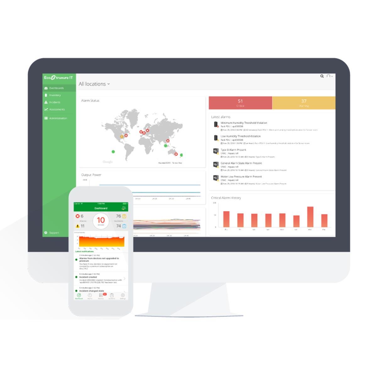 Softver, mrežne kartice i periferije za nadzor i upravljanje UPS i data centrima